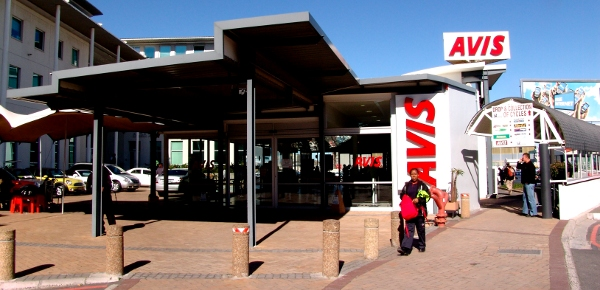 Avis offices at Cape Town International Airport