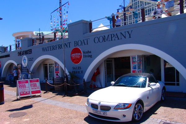 Waterfront Boat Company at the V&A Waterfront